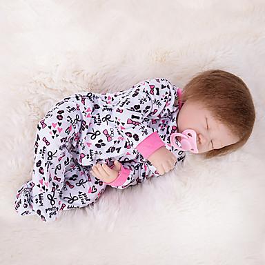 OtardDolls Păpuși Renăscute Bebe Fetiță 20 inch Silicon - natural Lui Kid Fete Jucarii Cadou