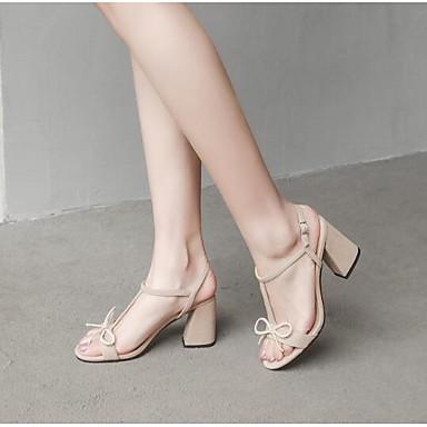 Talon Amande Bottier Confort Noir Rose 06769593 Femme Eté Microfibre Chaussures Sandales XROppx