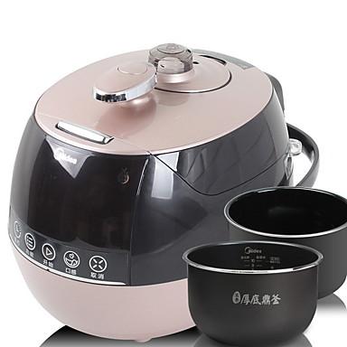 Oala sub presiune Model nou / Multifuncțional Teak / ABS + PC Aburitoare alimentare 220-240 V 900 W Tehnica de bucătărie