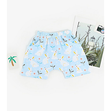 Bebelus Băieți Șic Stradă Imprimeu Bumbac Pantaloni / Copil