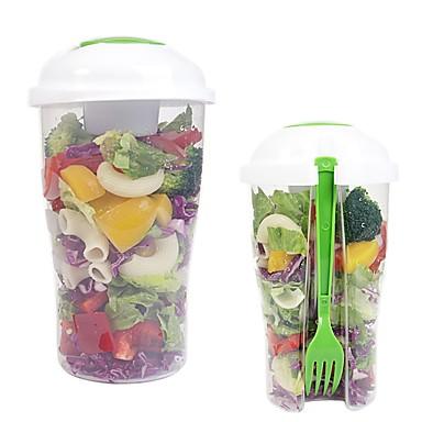 1 buc Ustensile de bucătărie Plastic Portabil Instrumente pentru salată pentru Fructe / Salată