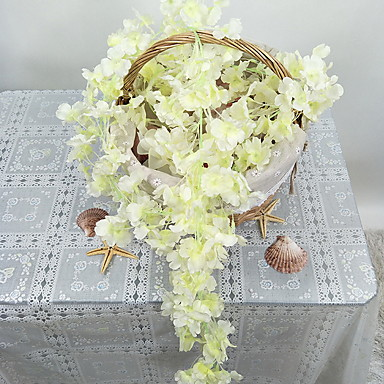 Flori artificiale ramură Clasic Pastoral Stil Sakura Flori Perete