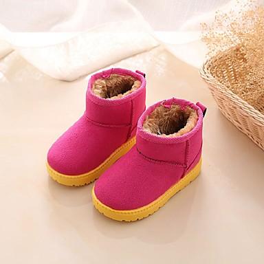 Fete Pantofi PU Iarnă Cizme de Zăpadă Cizme Plimbare pentru Copii Fucsia / Cizme / Cizme la Gleznă
