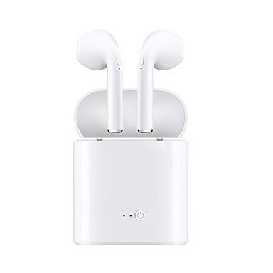 i7s tws earbud bluetooth 4.2 căști căști plastic / plastic carcasă căști căști noi design / stereo / cu control al volumului