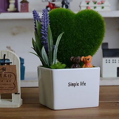 Flori artificiale 1 ramură Clasic / Single Stilat / Rustic Plante Față de masă flori