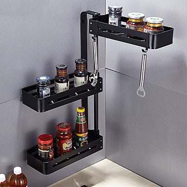Kitchen Organization Rack & Holder Stainless Steel Easy to Use 1pc