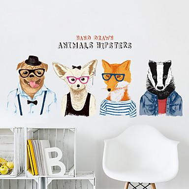 Autocolante de Perete Decorative - Animal Stickers de perete Animale Sufragerie / Dormitor / Baie