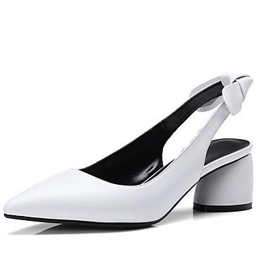 Chaussures Bottier Femme Chaussures Noir Talons Talon Eté 06832396 Nappa Marron à Blanc Cuir Confort aqdZqwC