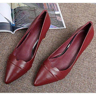 Confort à Talon Printemps 06817137 Rouge Talons Bottier Chaussures Femme Chaussures Nappa Cuir YTTIqg