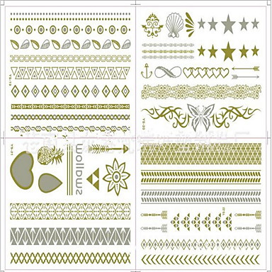 #(8) Pattern Jewelry Series Tattoo Stickers