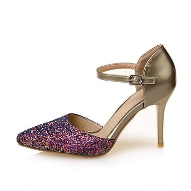 Talons Or Printemps Confort Polyuréthane Talon Aiguille Argent été à 06833095 Chaussures Chaussures Femme vqaxHnH