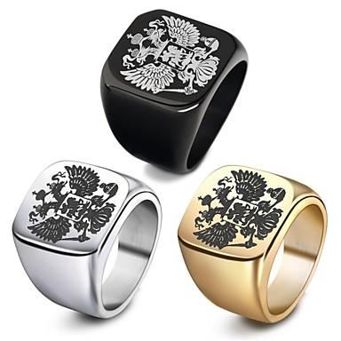 Ανδρικά Κοίλο 3D Band Ring Δαχτυλίδι - Τιτάνιο Ατσάλι 7c316f839f9