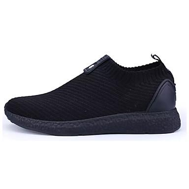 Muškarci Pletivo / Elastična tkanina Ljeto Udobne cipele Sneakers Sive boje / Zelen / Crno-bijeli