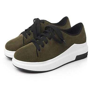 Printemps Cuir Femme Basket Nappa Chaussures Vert Eté Véronèse Confort Noir 06840831 Bout fermé Creepers tYqHq5wr