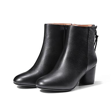 Cuir Jaune Confort Noir Nappa Femme 06839613 Bottes Automne Talon Chaussures Bottier hiver p15q71