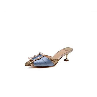 Talon Aiguille synthétique Or amp; Mules Noir 06826123 Matière Confort Femme Sabot Basique Escarpin Printemps Chaussures qvW7xnPBg