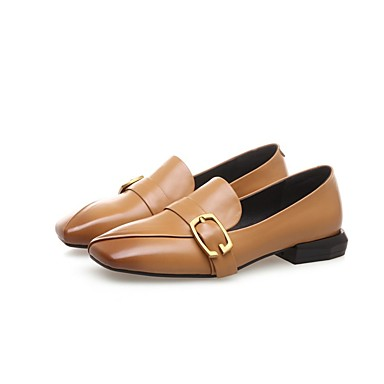 Noir Nappa Femme Jaune à Chaussures été Confort Cuir Printemps Block 06811117 Talons Chaussures Heel PPwfnUqEx