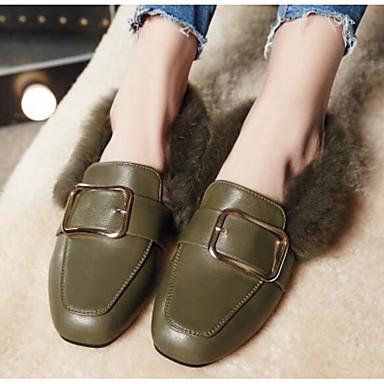 Mocassins D6148 Femme et Vert Talon Confort Polyuréthane Hiver Bas Chaussons 06794881 Chaussures Noir Gris wx1AqCxF