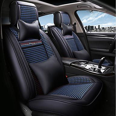 odeer couvre si ge de voiture couvre si ge noir bleu textile normal for universel toutes les. Black Bedroom Furniture Sets. Home Design Ideas