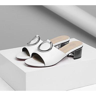 Basique Femme Confort Chaussures Vert Escarpin Nappa 06830453 Blanc Noir Eté Talon Sandales Cuir Bottier 1wAaYqrw