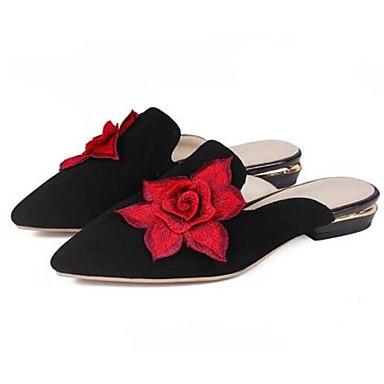 Peau 06836485 Bottier Bout mouton de Eté amp; Chaussures fermé Noir Sabot Mules Talon Gris Printemps Daim Confort Femme xTqEUCw