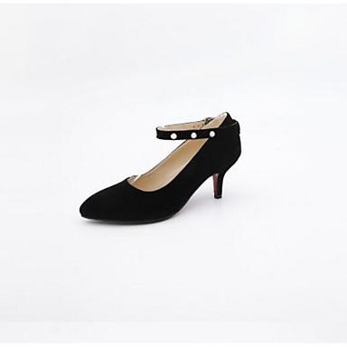 Heel Femme Kitten Printemps 06799538 Basique Chaussures Talons Bleu Confort Noir Automne Chaussures Escarpin Polyuréthane Rouge à qqUvPA