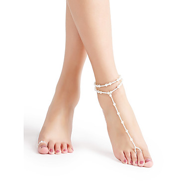 Fashion Jewelry Jewelry & Watches Generous Fashion Gold Crystal Chain Anklet Bracelet Barefoot Sandal Beach Foot Jewelry Reliable Performance