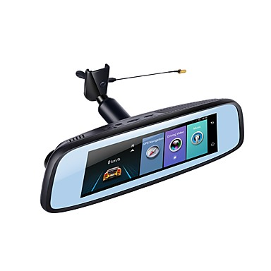 abordables DVR de Voiture-Factory OEM 1080p HD / Vision nocturne DVR de voiture 140 Degrés Grand angle 12 MP 7.85 pouce IPS Dash Cam avec Wi-Fi / GPS / Vision nocturne Non Enregistreur de voiture / Mode Parking / ADAS