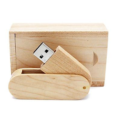 Ants 32GB unidade flash usb disco usb USB 2.0 Madeira / Bambu Rotativo