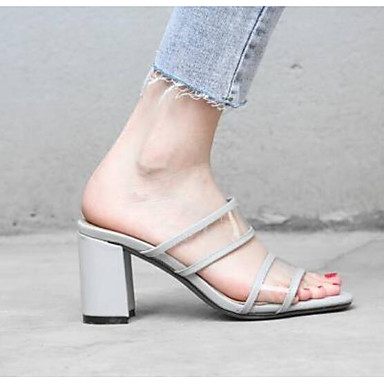 Beige Gris Sandales 06778536 Confort Talon Femme Nappa Bottier Chaussures Cuir Eté wqxO87pO