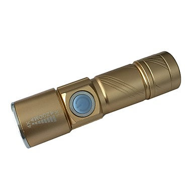 ismartdigi S LED svjetiljke Prijenosno / Anti-traktorskih Kampiranje / planinarenje / Speleologija / Uporaba / Lov Zlato / Crn