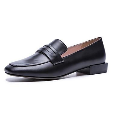 Automne Basique Noir Marche à Bout Chaussures Nappa Amande Chaussures Confort Block Talons Heel 06840503 Marron carré Femme Cuir Escarpin 8ZqtvwYx