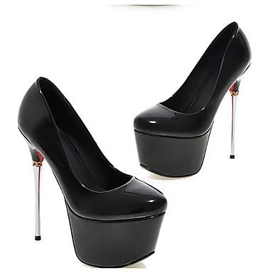 Rose Or Confort Polyuréthane 06825959 à Noir Chaussures Escarpin Basique Talons Aiguille Chaussures Printemps Talon Femme SHFxqOwB