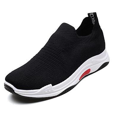 Men's Mesh / Fall Comfort Sneakers Black / Mesh Gray b02077