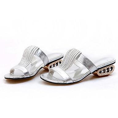 Or Femme synthétique Chaussures 06791298 Matière Argent hétérotypique Talon Sandales Confort Eté Uq8U4r