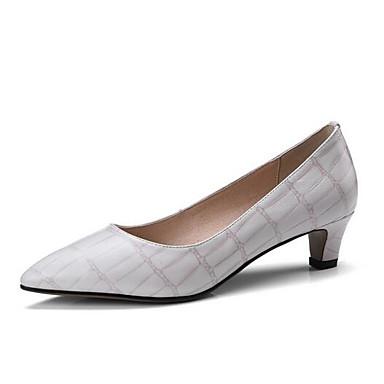 Brun mouton de Femme Bas Printemps Talon Peau claire Chaussures Confort Talons Noir Chaussures à 06775094 Beige FttEqOwx