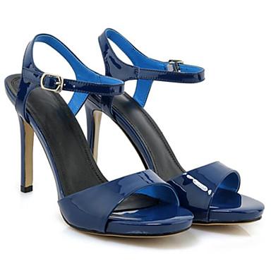 06797565 Sandales Confort Bleu Talon Aiguille Eté Cuir Femme Nappa Chaussures 8xqInzX
