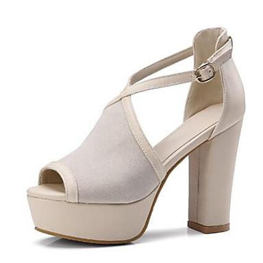 Soirée Evénement Bottier Femme été Talon amp; Noir Daim Escarpin Chaussures Printemps Sandales ouvert Bout Basique 06778259 Boucle Amande Beige qT8rZq0w