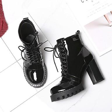 Femme Chaussures Cuir Nappa Hiver Confort Bottes Bottes Bottes Talon Bottier Noir | Online Shop  7d3ee4