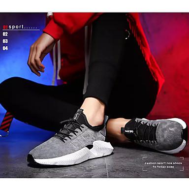 Homme Tissu élastique Eté Confort Chaussures d'Athlétisme d'Athlétisme d'Athlétisme Course à Pied / Marche Noir / Gris / Rouge | Emballage élégant Et Robuste  dd4879