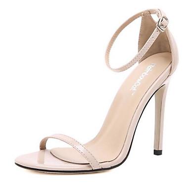 Printemps Cuir Confort Sandales Nappa Chaussures Talon Femme 06832248 Aiguille Rouge Noir Blanc xq7CwS7