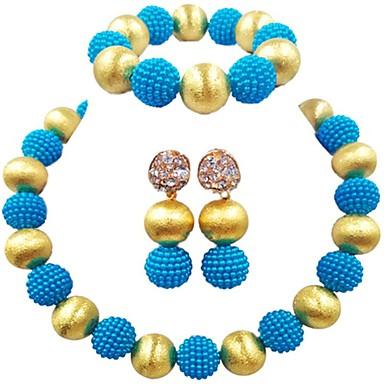 6062f03d20c4 Mujer Hebra Única Conjunto de joyas Bola damas