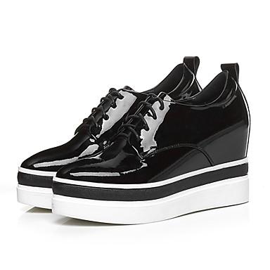 Femme Confort 06797671 Plat Basket Cuir Chaussures Printemps Vert R7qXZ4