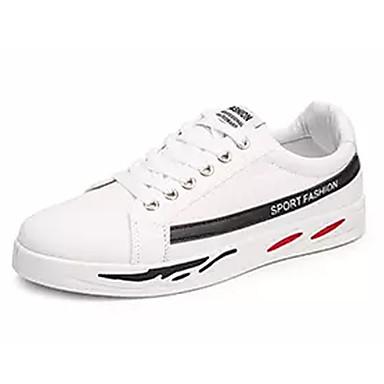 Muškarci PU Ljeto Udobne cipele Sneakers Obala / Crn / Crvena