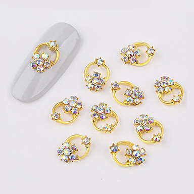 10 pcs Nail Jewelry Universal Creative nail art Manicure Pedicure Daily  Stylish 83ffce3c40f0