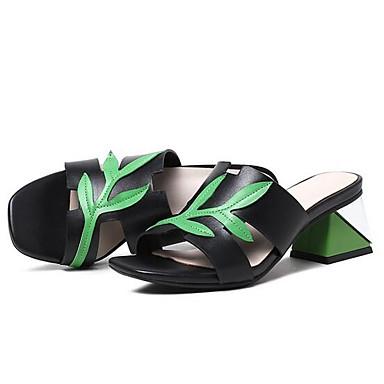 06869870 de Cuir Talon confort Chaussures Femme Nappa Noir Sandales Eté Bottier Rouge aUxHqn