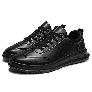 Abile Per Uomo Scarpe Comfort Pu (poliuretano) Autunno Sneakers Bianco - Nero - Rosso #06891690