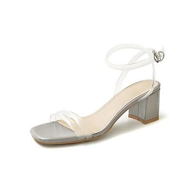Eté Talon Gris Chaussures Confort Sandales Noir Femme Bottier 06864624 Amande PVC XxPwqX8