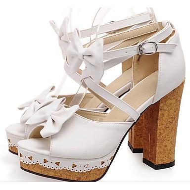 Blanc Basique Polyuréthane Talon Noir Femme Escarpin Chaussures 06841100 Eté Confort Rose Sandales Bottier XOqfqz4Rw