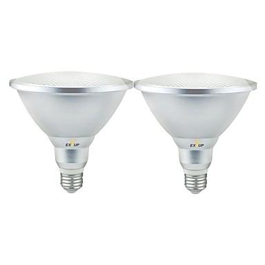 abordables Ampoules électriques-EXUP® 2pcs 18 W Spot LED 1620 lm E26 / E27 18 Perles LED SMD 3030 Imperméable Blanc Chaud Blanc Froid Blanc Naturel 85-265 V